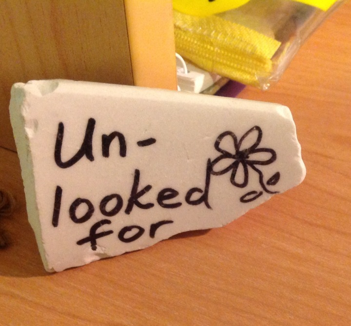 Unlooked for