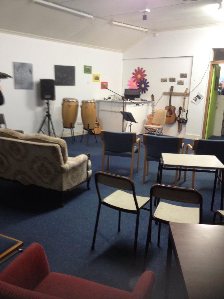 Graeme's studio