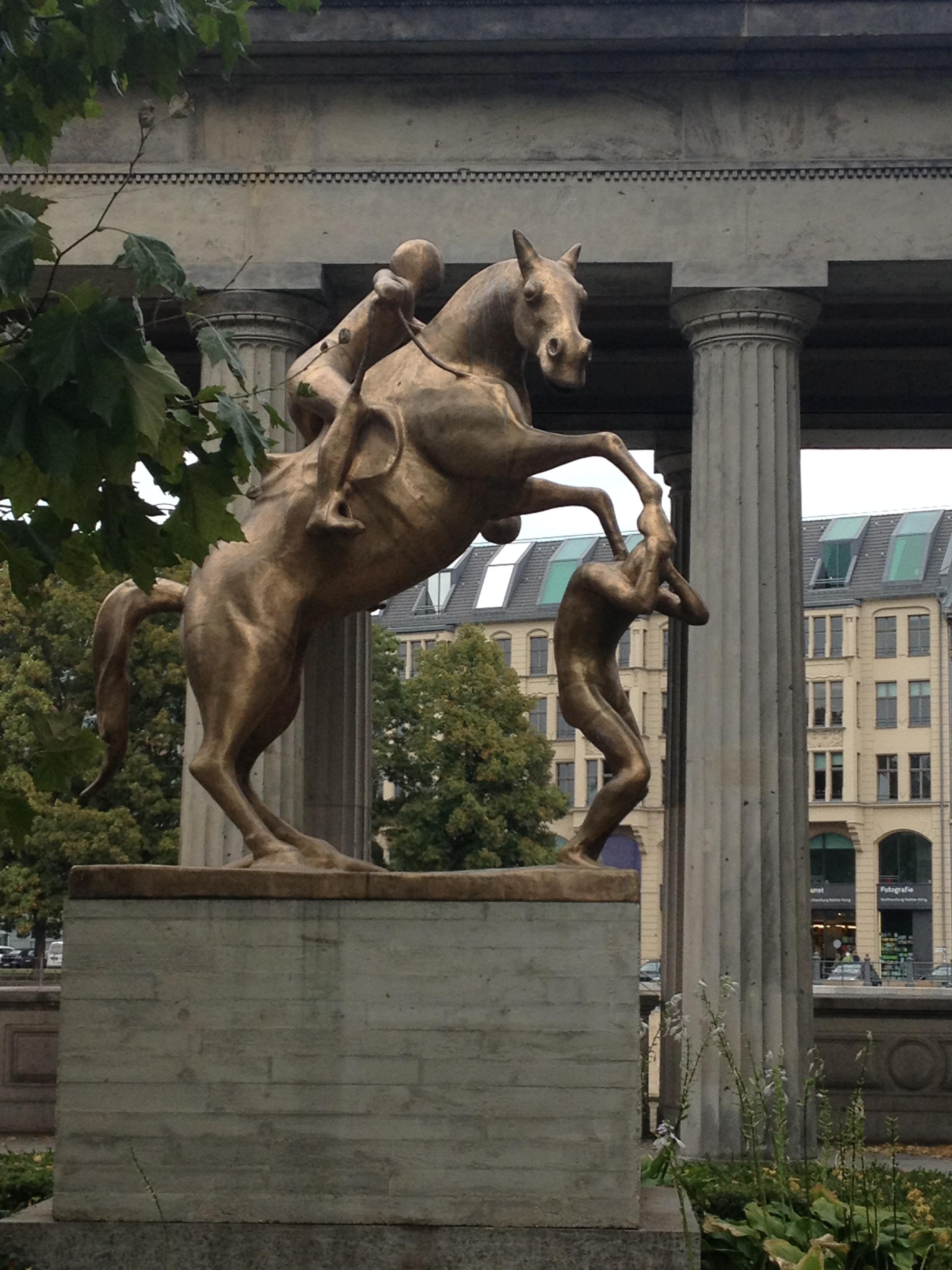 berlin museum horse.JPG