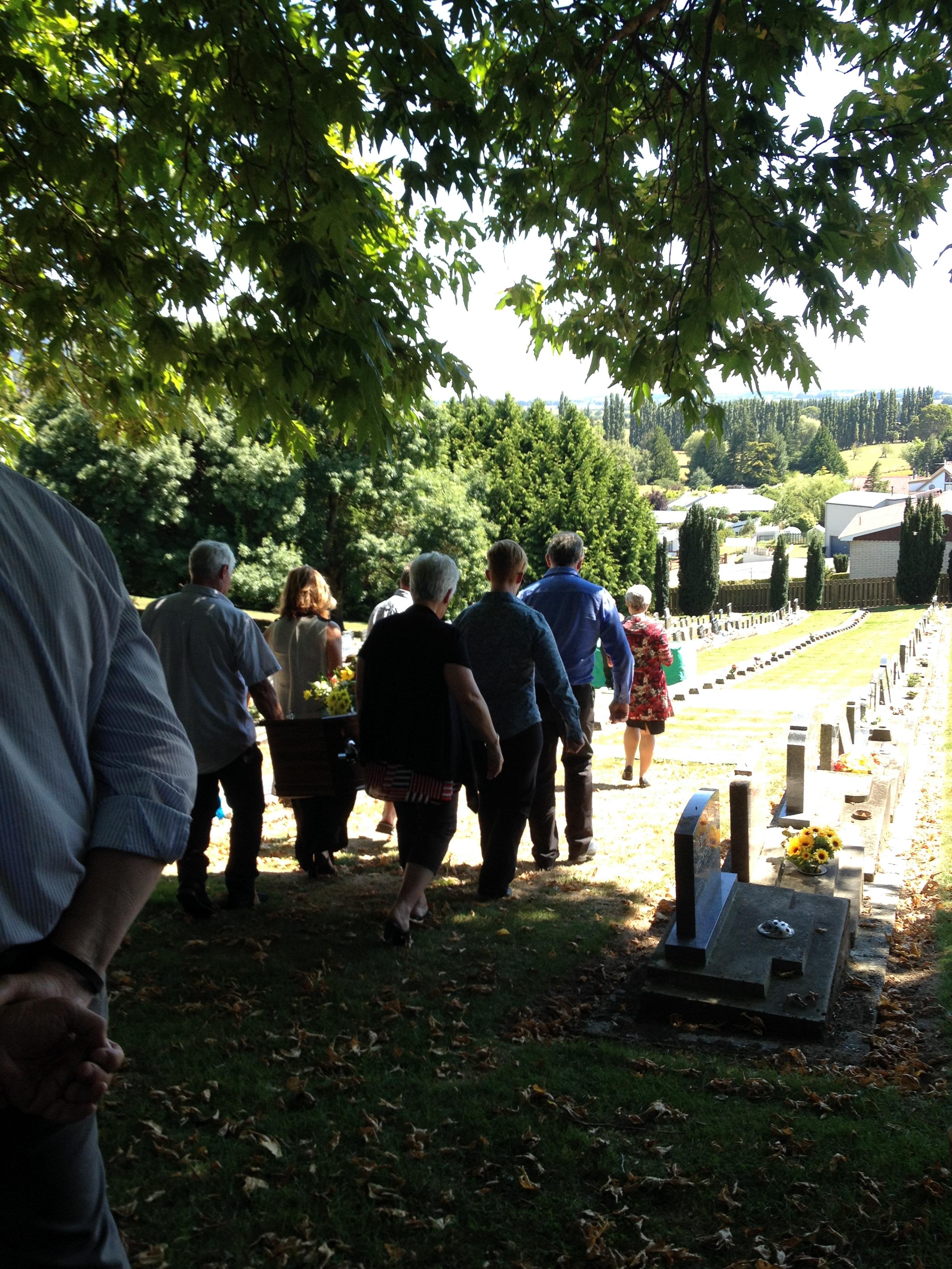 Lorna's funeral.JPG