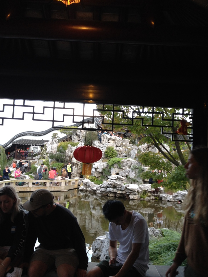 Chinese Garden people