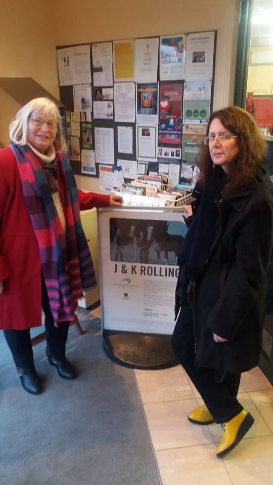 Jenny & Kay by poster