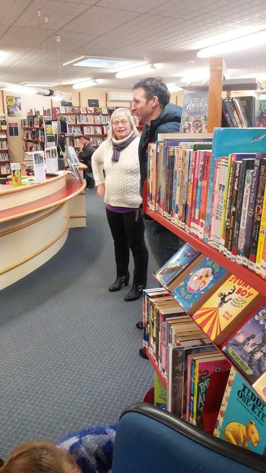 K at library