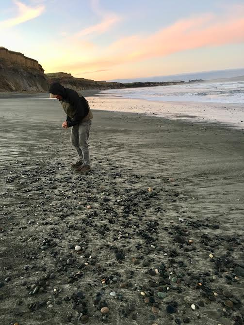 chris on gem beach clearer