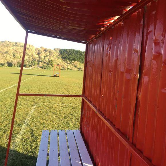 football shelter 2