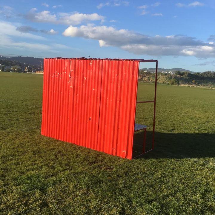 football shelter